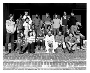 Faculty and students in the 1978 Behavior Course at the Marine Biological Laboratory